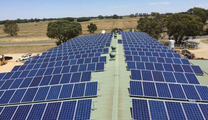 Solar Installation on Roof
