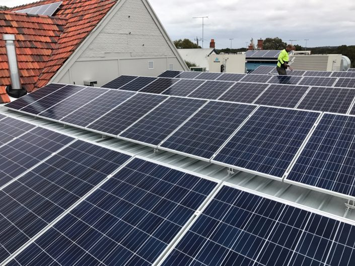 Commercial Solar Melbourne | RTP Electrical