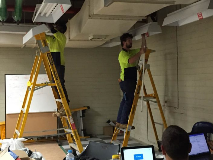 Melbourne Electrician Lighting Installation 1
