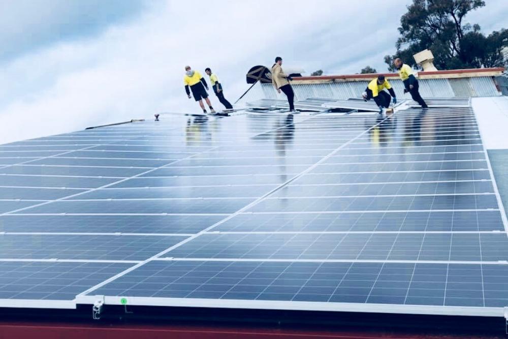Moira Mac Solar Installation